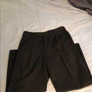 Pronto Uomo Italian pleated dress pants
